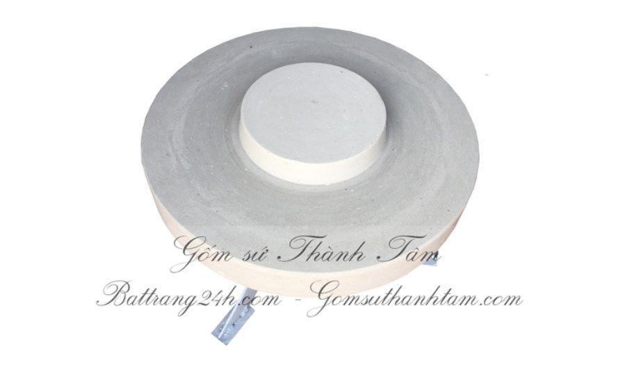 Mua bàn xoay gốm sứ Bát Tràng bằng thạch cao, bàn xoay giá rẻ chất lượng đẹp